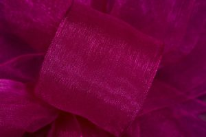 Basic Chiffon Fuchsia 100yds Ribbon