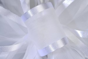 Cleopatra White 25yds Ribbon